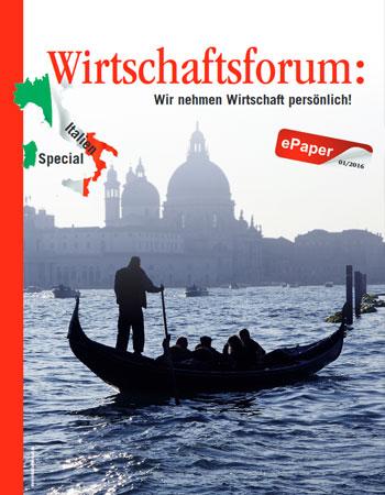 Wirtschaftsforum ePaper Italien 2016