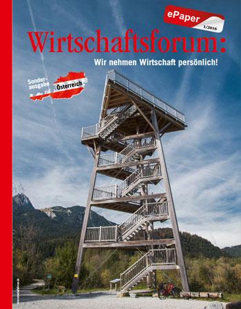 Wirtschaftsforum ePaper Österreich 2016