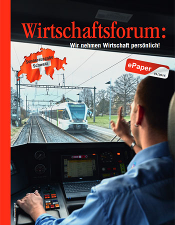 Wirtschaftsforum ePaper Schweiz 2016