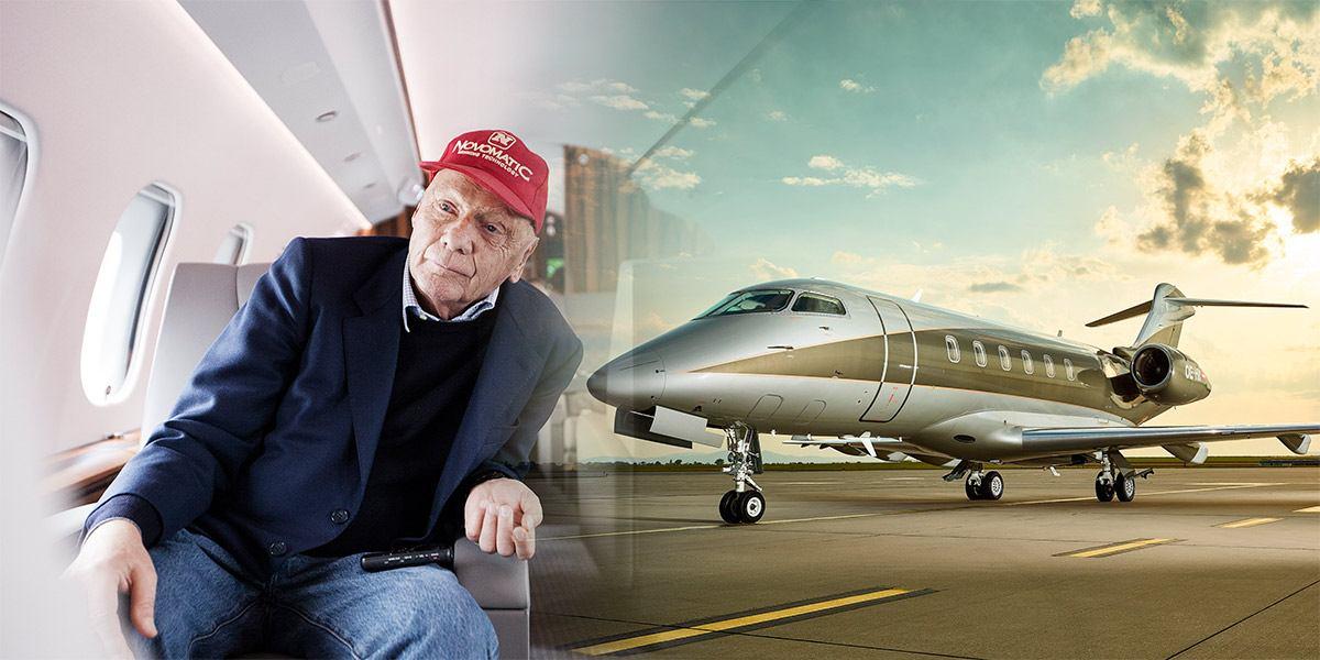 Unternehmer und Formel-1-Legende Niki Lauda