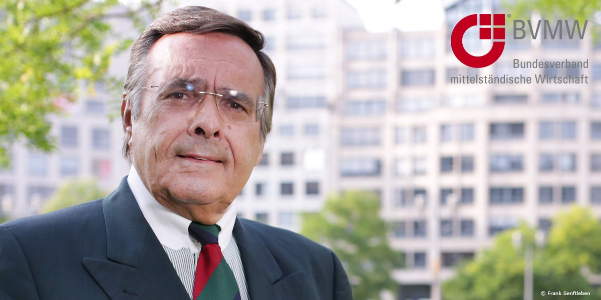 Mario Ohoven vom BVMW
