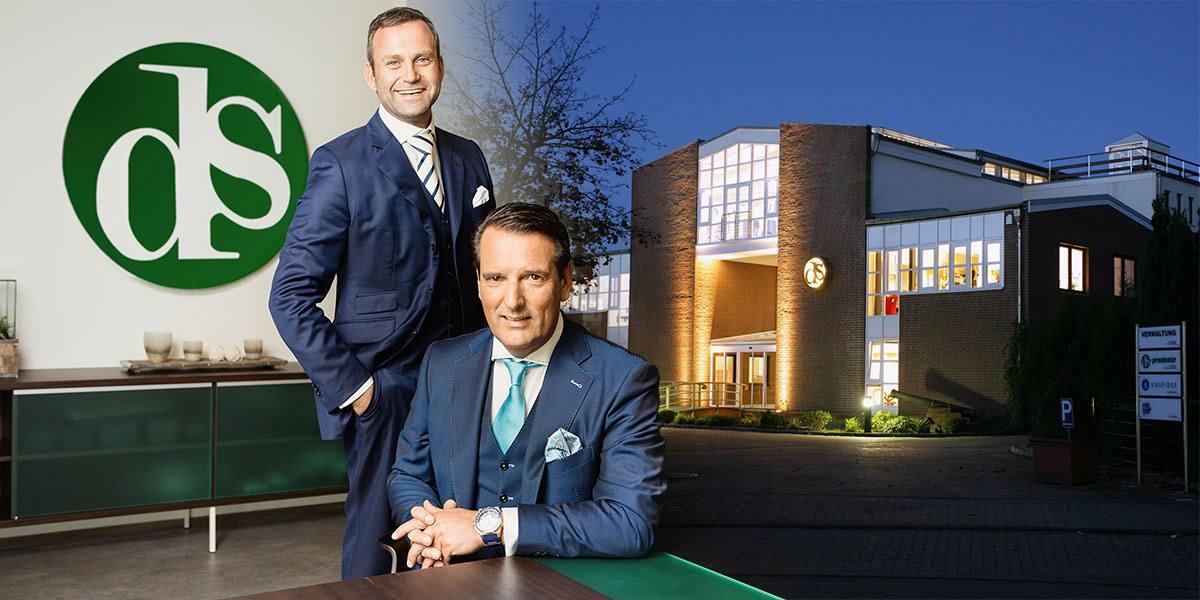 Ralf Dümmel und Dr. Hanno Hagemann, DS Produkte