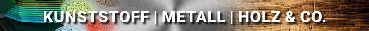 Kunststoff-Metall-Holz