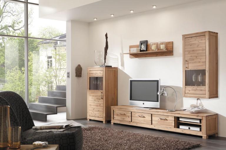 WOLF MÖBEL GmbH Co KG Wirtschaftsforum - Vollholzmobel wohnzimmer