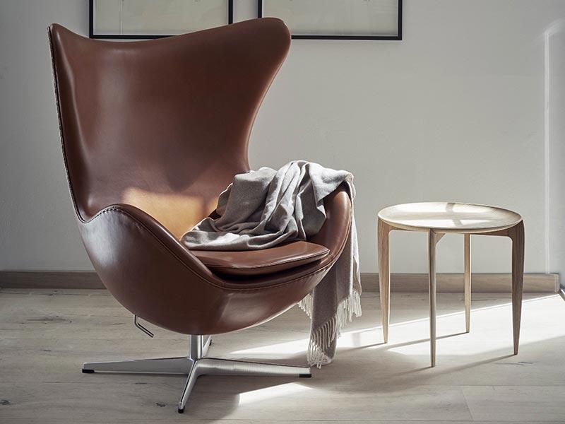 Arne Jacobsen Entwarf Auch Den Egg™ Stuhl, Einen Weitere Stilikone, Die  Weltweit Bekannt Ist