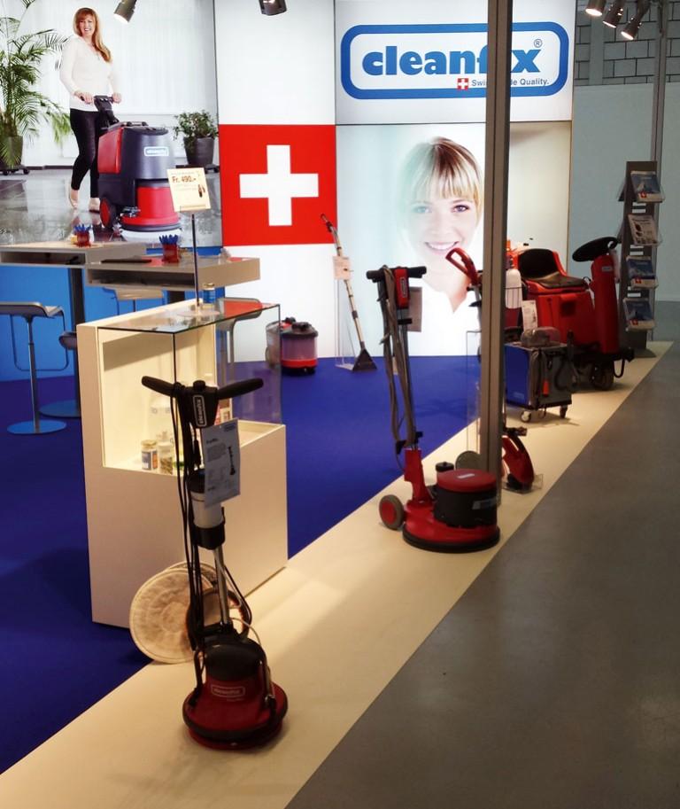 Cleanfix Reinigungssysteme Messestand