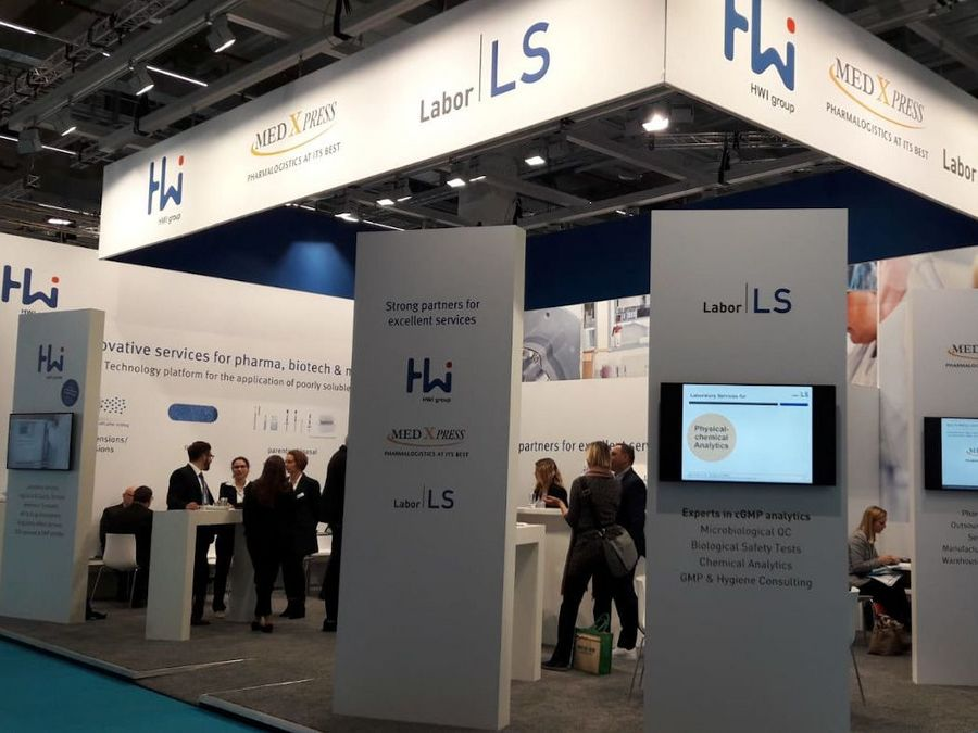 Labor LS - Messestand